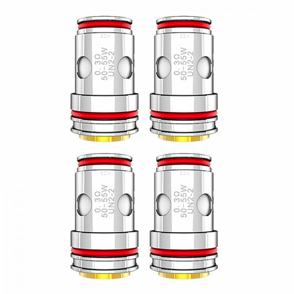 4x Uwell Crown 5 Coil´s - 0,3 Ohm Mesh