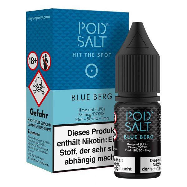 Pod Salt 10ml - Blue Berg