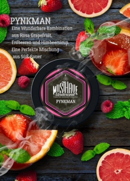Musthave Tabak Pynkman 200g